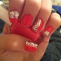 Cool nail design. But knowing me I'd mess them up within minutes.