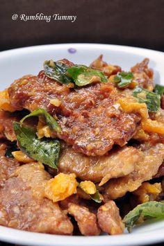 Rumbling Tummy: Salted Egg Pork Chop