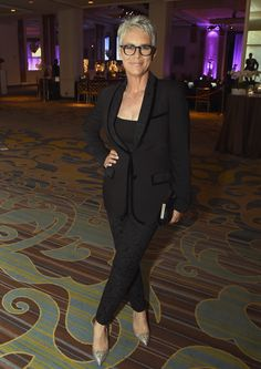 Actress Jamie Lee Curtis attends the Hollywood Foreign Press Association's Grants Banquet.
