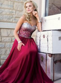 Charming Prom Dress,Sweetheart Prom Dress,A-Line Prom Dress,Chiffon Prom Dress,Noble Beading Prom Dress Hot
