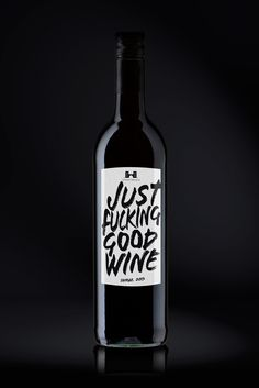 Just F* Good Wine