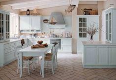 Arcari arredamenti - cucina Capri stile country e classico ...