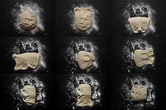 Chléb Šumava bez hnětení | Cuketka Czech Recipes, Ham, Mona Lisa, Bread, Hams, Breads, Sandwich Loaf