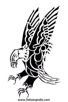 Celtic Eagle Tattoo 2.jpg (435×650) More