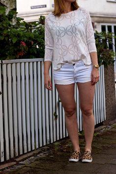 Weiß zu weiß kombinieren sommer