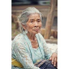 Dadong (grandmother) in Bali, Indonesia