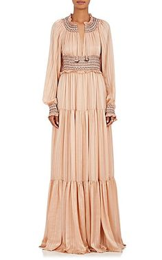 21ecccc96e909 Ulla Johnson Athena Silk Maxi Dress