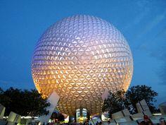 EPCOT in Disney World, Orlando, Florida