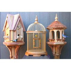 Workshop Supply -The package includes plans for a bird house, bird cage and bird feeder... only $17.95