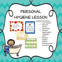 This lesson plan provides comprehensive coverage of personal hygiene. It covers basically everything Hygiene Lessons, Health Lessons, School Health, Special Education Classroom, Therapy Activities, Preschool Activities, School Psychology, Personal Hygiene, School Counselor