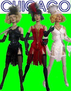 The Studio Commissary: Pics of Roaring 20's Flapper dolls