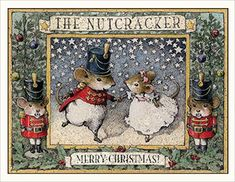 Wee Forest Folk Nutcracker Note Card Set of 6 Christmas Note, The Night Before Christmas, Vintage Christmas, Christmas Cards, Xmas, Illustration Photo, Illustrations, Cute Mouse, Theme Noel