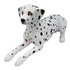 wow not sure if this is within my limited craft abilities! But a paper dalmation dog would be great fun at a fire engine party