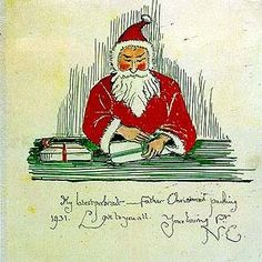 Image result for jrr tolkien father christmas letters