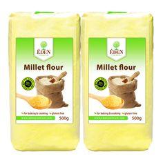 Hirse Mehl 2 x 500g  Gluten- und Cholesterinfrei 100% Naturprodukt