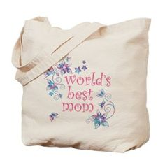 World's Best Mom Tote Bag