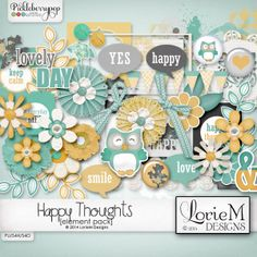 Happy Thoughts Element Pack