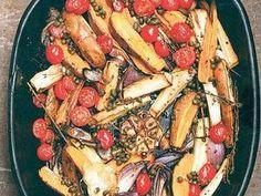 pastinaken & süßkartoffeln