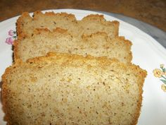 Once in a while, I would really like a slice of toast. Fast Paleo Bread Recipe
