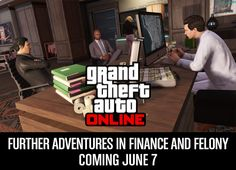 Further Adventures in Finance and Felony continues a player's mission to become the ultimate criminal kingpin of Los Santos and Blaine County in one of GTA Online's biggest and deepest u Gta Online, Grand Theft Auto, Finance, Adventure, Economics, Adventure Movies, Fairytale