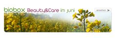 BIOBOX Beauty & Care im Juni Beauty Care, Herbs, Plants, Products, Nature, Herb, Plant, Spice, Planting