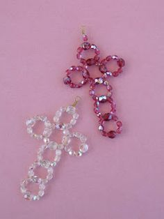 Terry Ricioli Designs: Beaded Crosses