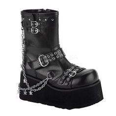 So excited to get this from The Violet Vixen. Franken Stomper Boots #thevioletvixen