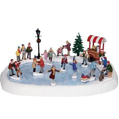 Lemax Village Collection Village Skating Pond with Sound #94048 - House of Holiday