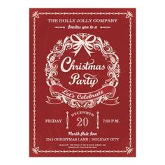 Faux gold foil folded photo holiday card holiday greeting cards corporate holiday party invitation business christmas party invitation white wreath banner and elegant reheart Choice Image