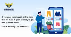 If you want customizable online store then we make it quick and easy to get your business online. Contact now #lobsolution #digitalcompany #seocompany #webcompany #digitalmarketing #business #onlinestore #customers #community #onlineplatform #marketing #branding Digital Marketing Services, Sales And Marketing, Email Marketing, Marketing Branding, E Commerce Business, Business Marketing, Online Business, Marketing Professional, Professional Services