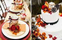 favor presentation and cake decorations
