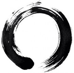 Ensō Zen Circles is an art form that is practiced amongst Zen Buddhists. It symbolizes absolute spiritual enlightenment, strength, elegance, the universe, and the void. Only a person who is mentally and spiritually complete can draw a true Ensō with one stroke.
