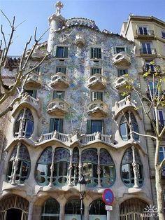 Каса  Кальвет,  Барселона.   Арх.  Гауди.