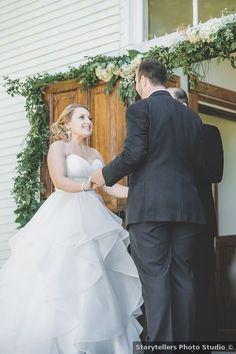Outdoor ceremony photography, wedding photo inspiration