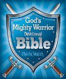 We just finished, Sheila Walsh's God's Mighty Warrior Devotional Bible which was perfect for our house of boys. The different chapters or articles were under subheadings of 'Helmet of Salvation', 'Mighty Warriors', 'Shield of Faith', 'Stand Strong' and 'Sword of the Spirit'.  My home of foam swords, Nerf guns and battle shields could appreciate this book geared for boys.