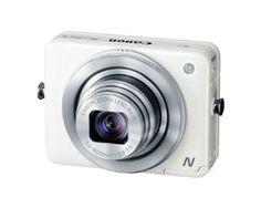 Amazon.com: Canon PowerShot N 12.1 MP CMOS Digital Camera with 8x Optical Zoom and 28mm Wide-Angle Lens (White): Camera & Photo