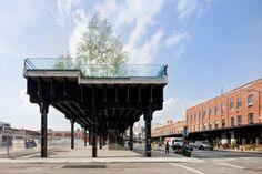 漫遊紐約天空之城,廢鐵道變身市中心的空中花園-HIGH LINE @ 綠‧建築家 :: searchouse.net