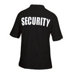 Viper Security Polo Shirt - Black