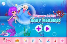 #Girlsgogames Fairytale Doctor Baby Mermaid is a free game for girl to play http://www.girlsgo2games.com/games-fairytale-doctor-baby-mermaid.html. You can play Fairytale Doctor Baby Mermaid in your browser for free