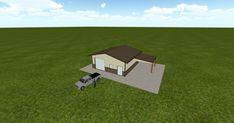 Cool 3D #marketing https://ift.tt/2qkxDQq #barn #workshop #greenhouse #garage #roofing #DIY