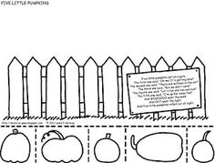 photo regarding Five Little Pumpkins Sitting on a Gate Printable identified as 35 Easiest 5 Minor Pumpkins! photos in just 2013 5 very little