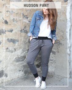 True Bias Hudson Pant Pattern // for lounging around comfortably