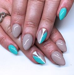 Simple Artistic Nails