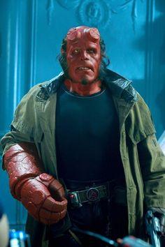 Still of Ron Perlman in Hellboy II: The Golden Army Hellboy 2004, Hellboy Movie, Beetlejuice, Spawn, Hellboy Wallpaper, Hot Bad Boy, Ron Perlman, Hollywood, Superhero Movies