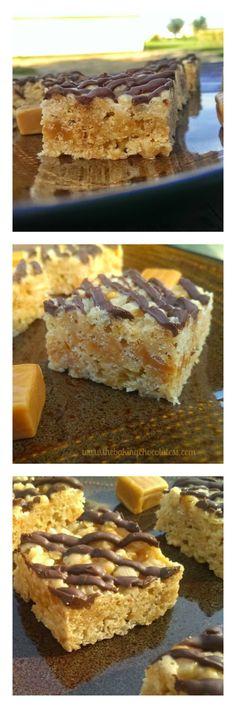 Caramel Peanut Butter Rice Krispies! – The Baking ChocolaTess