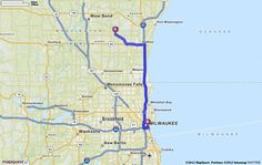 Driving Directions From Phoenix Arizona To Milwaukee Wisconsin - Mapquest norway