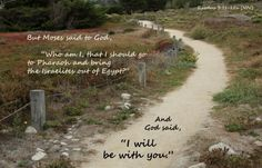 A BSF class member took this picture and applied the Scripture from our current study of Moses.