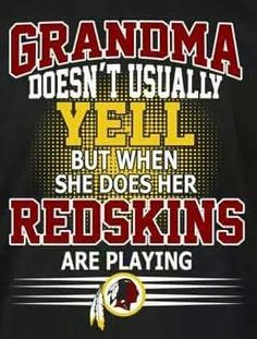 I'll never get to be a grandma, but that's ok....I am used to the idea now. I'll always hoot and holler for my skins! Redskins Baby, Redskins Football, Football Memes, Washington Capitals, Washington Redskins, Redskins Pictures, Nfc East Division, Fedex Field, Nfl Championships