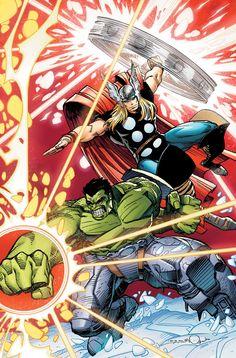 Walter Simonson - Hulk & Thor