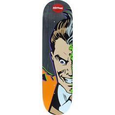 Almost Chris Haslam Resin 7 Two-Face Splitface Deck - now at Warehouse Skateboards! #skateboards #whskate